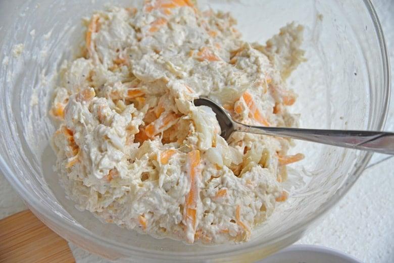 crab filling for egg rolls