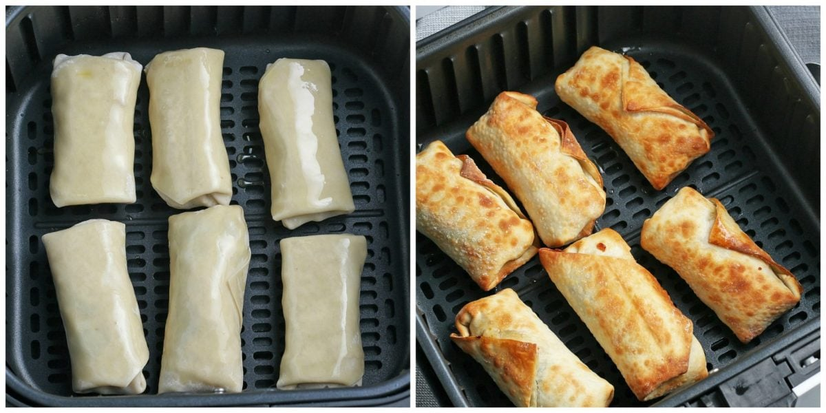 air fried southwest egg rolls