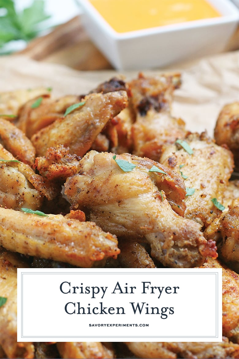 air fryer buffalo wings for pinterest