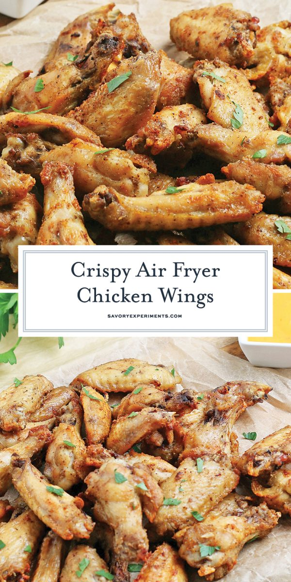 air fryer chicken wings for pinterest
