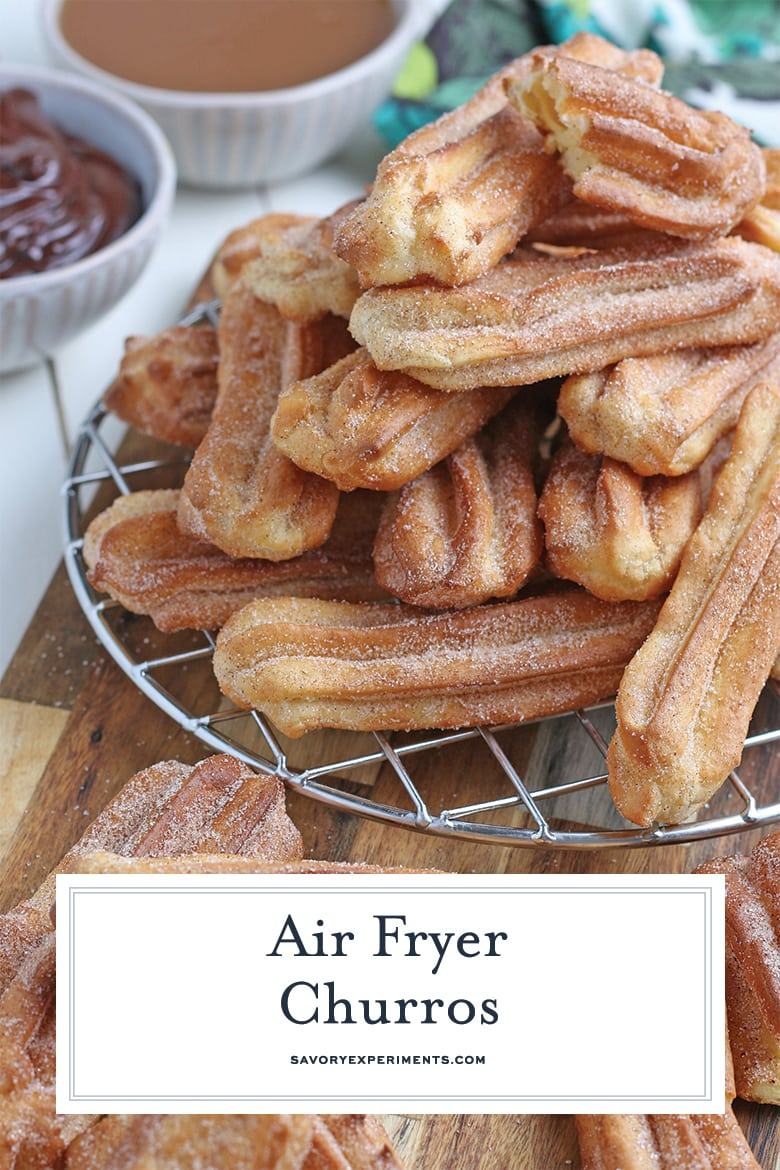 how to make churros in the air fryer