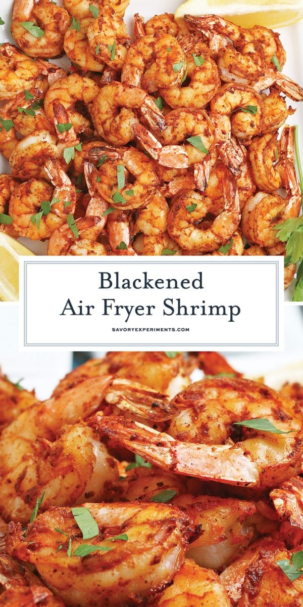 blackened air fryer shrimp for pinterest