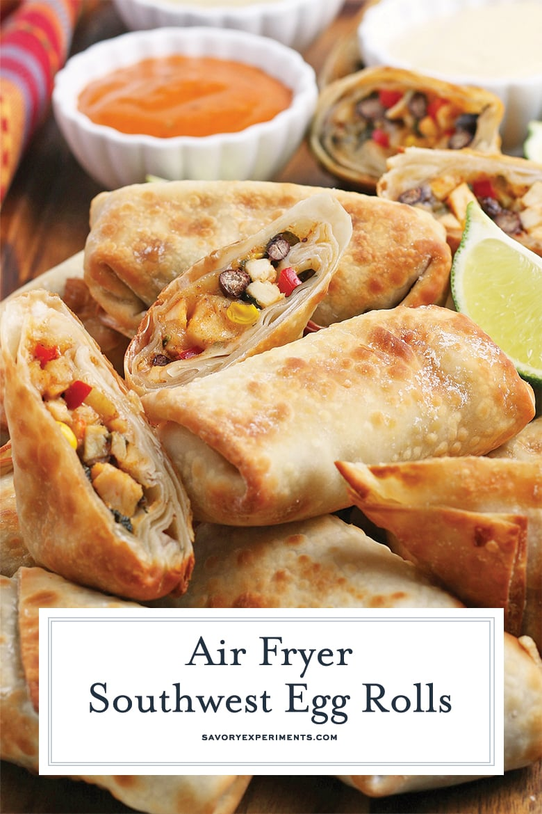 southwest egg rolls for pinterest