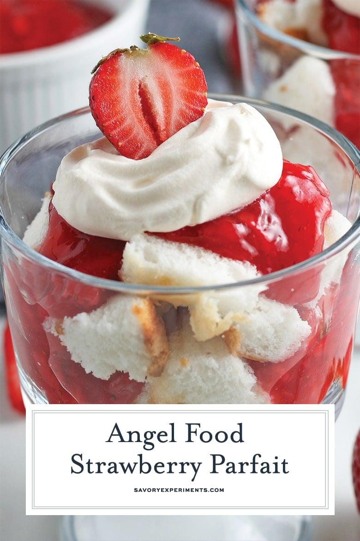 strawberry parfaits for pinterest
