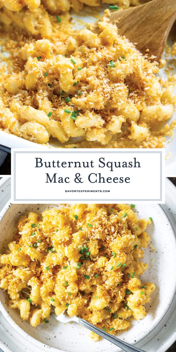 butternut squash mac and cheese for pinterest