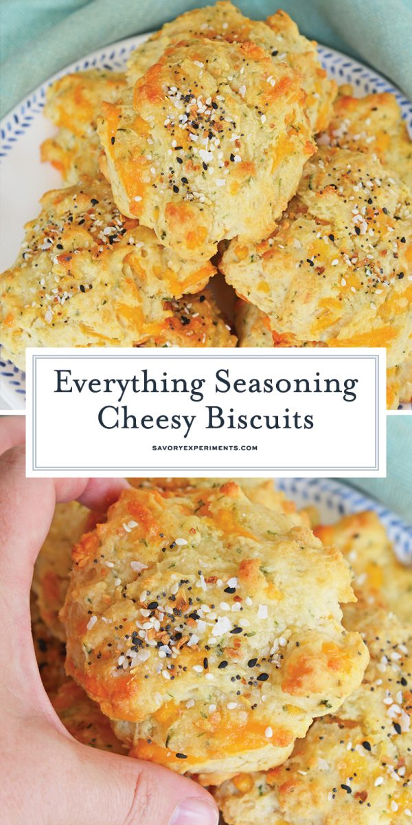 everything bagel biscuits for pinterest