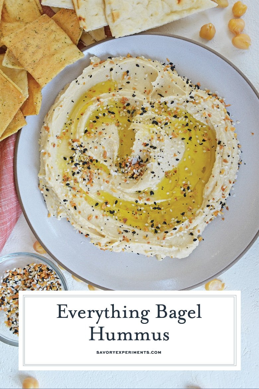 everything but the bagel hummus pin