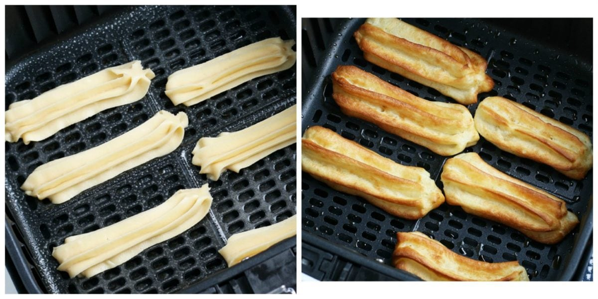 how to cook churros in an air fryer