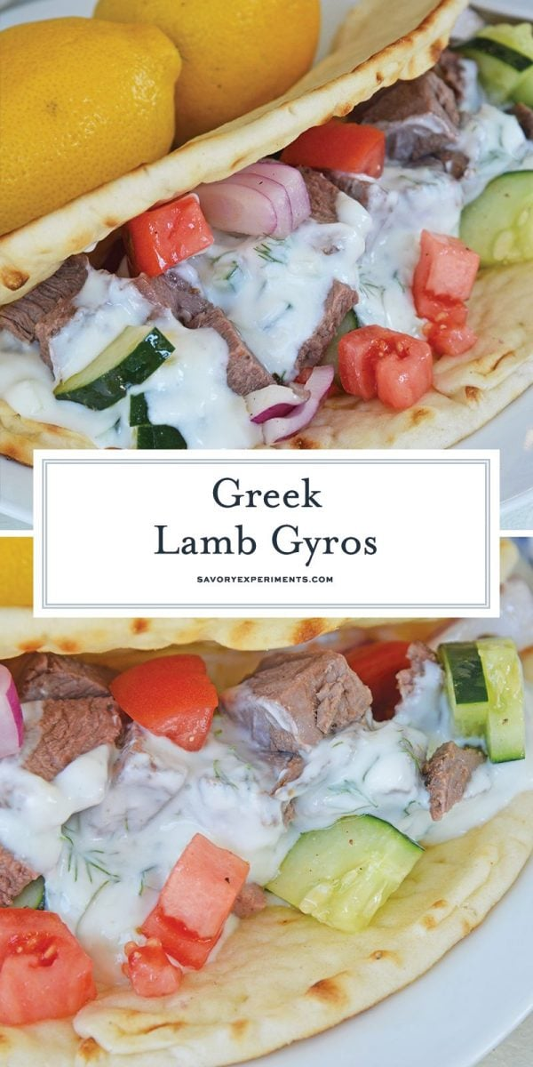 greek lamb gyros for pinterest