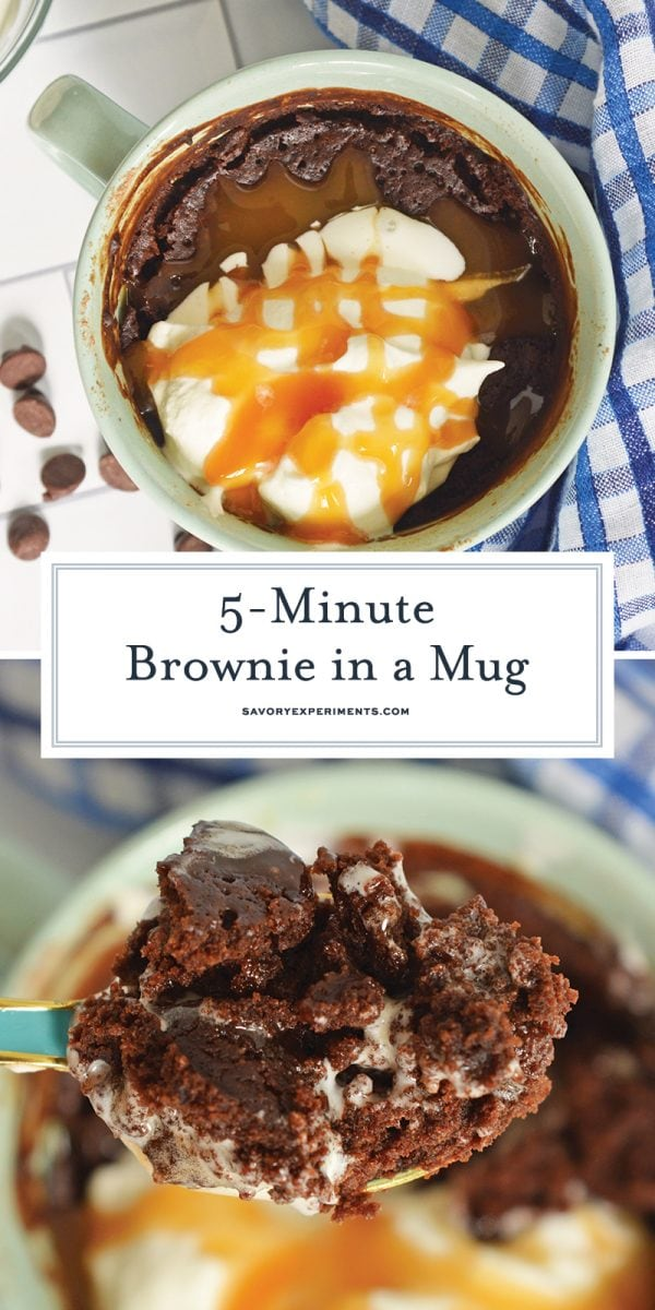 mug brownie for pinterest