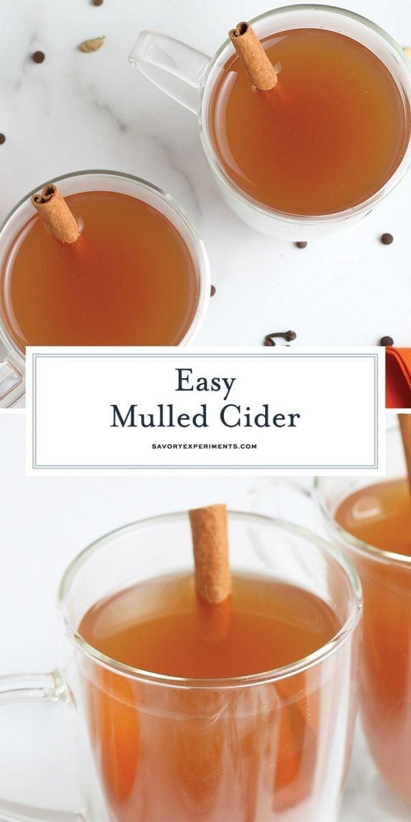 easy mulled cider for pinterest