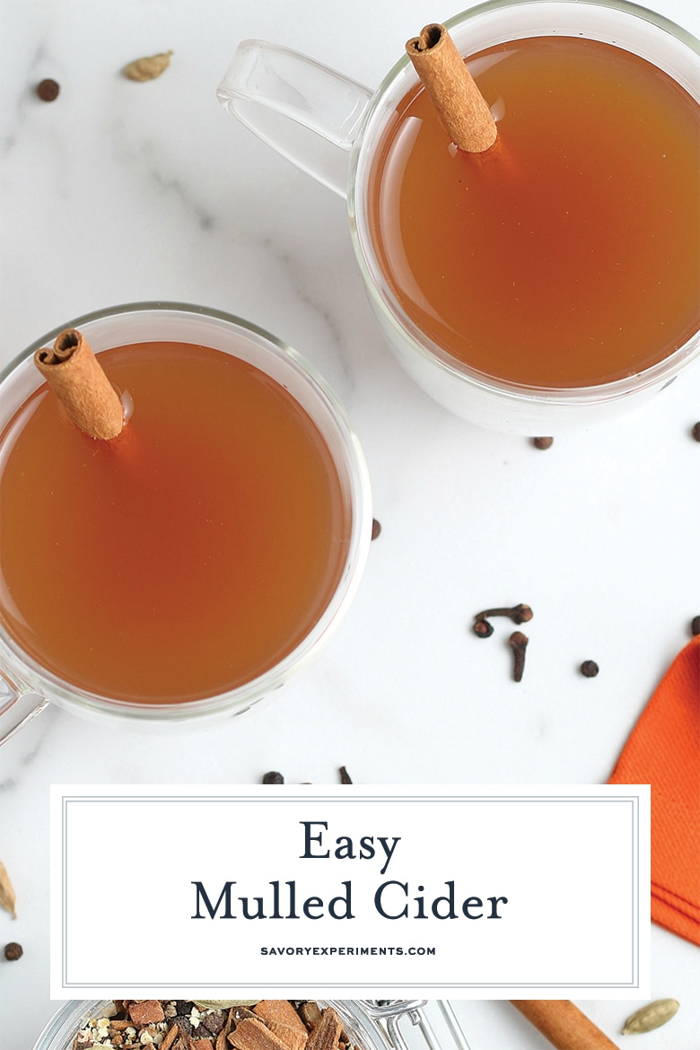 how to make mulled cider for pinterest