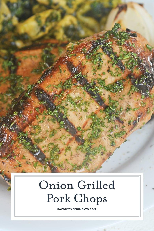 grilled pork chops for pinterest