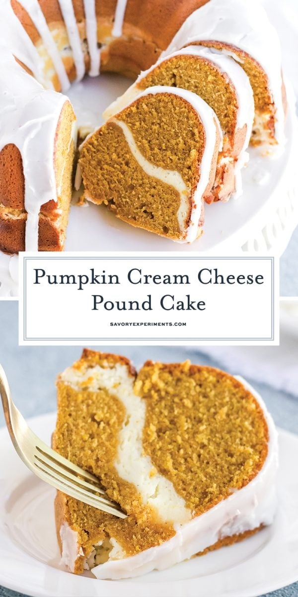pumpkin cream cheese pound cake for pinterest