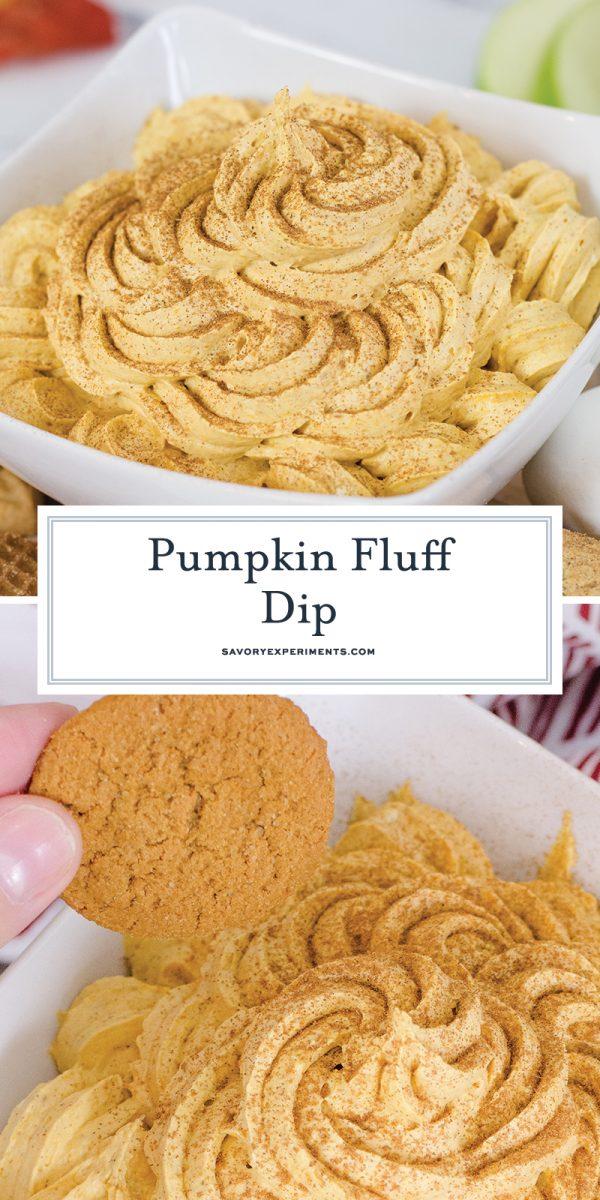 pumpkin dessert dip for pinterest