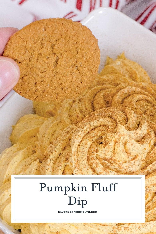 gingersnaps and pumpkin dip