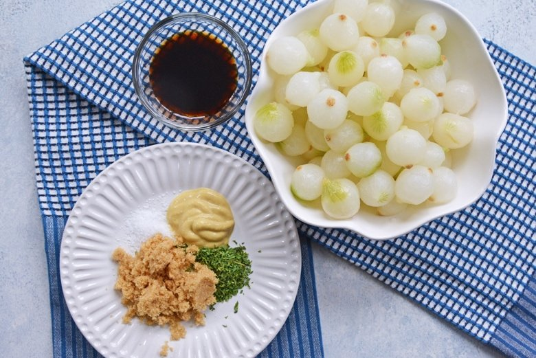 ingredients for pearl onion recipe