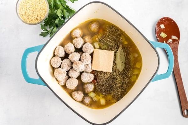 how to make meatball soup