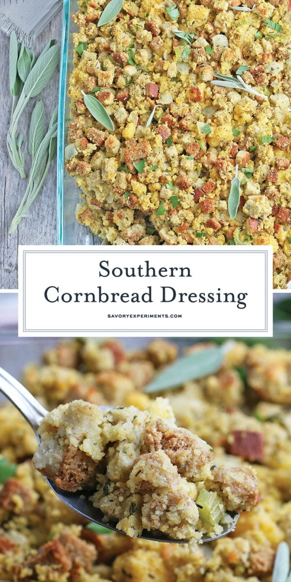 southern cornbread dressing for pinterest