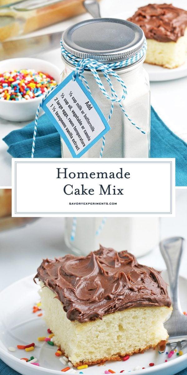 DIY cake mix for pinterest