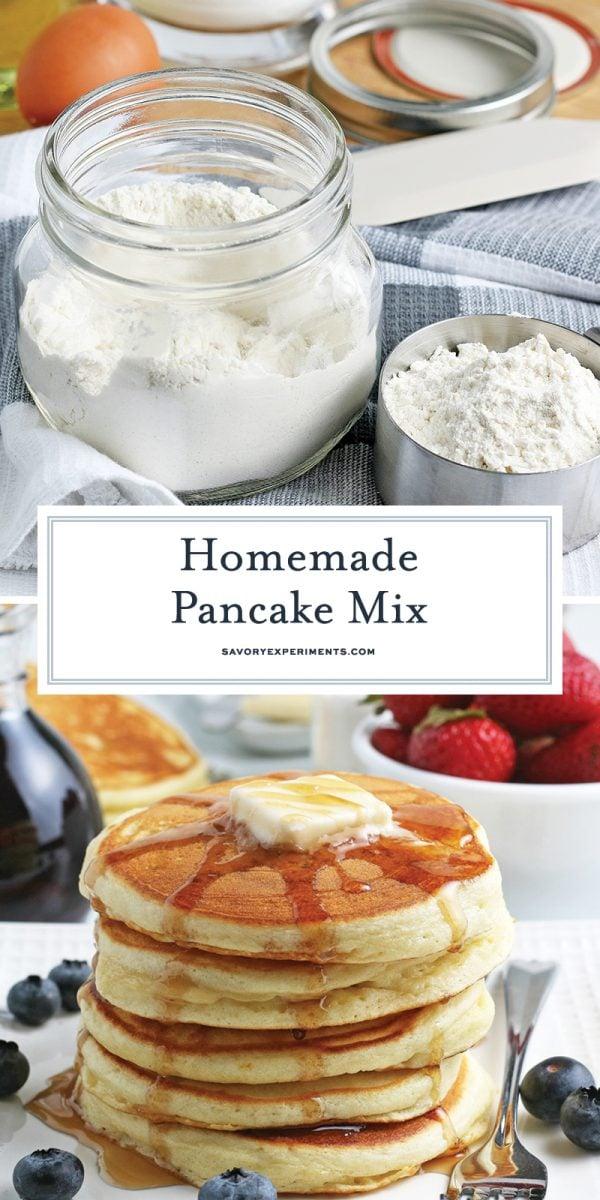dry pancake mix for pinterest