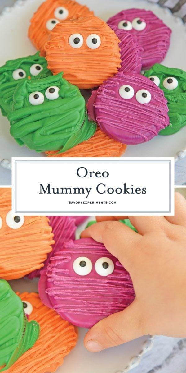 oreo mummy cookies for pinterest