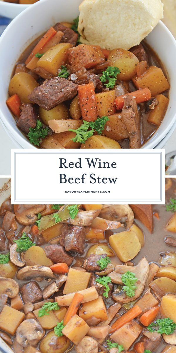 red wine beef stew for pinterest