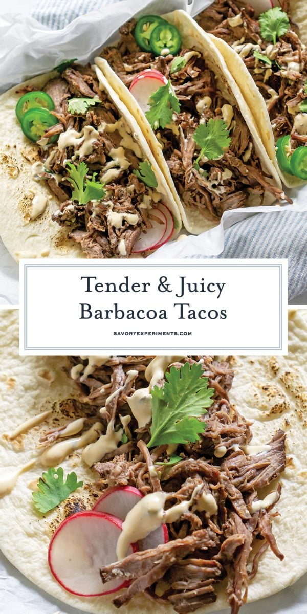 beef barbacoa tacos for pinterest