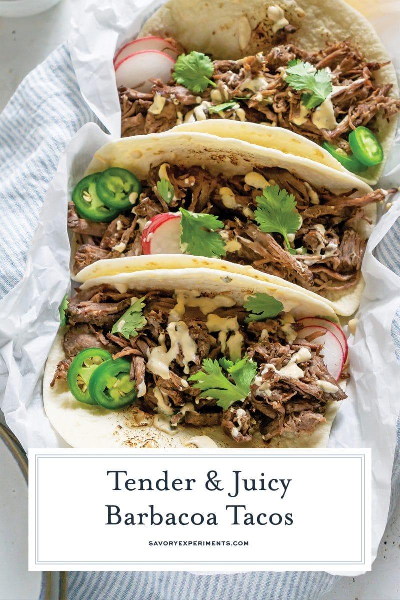barbacoa taco recipe for pinterest