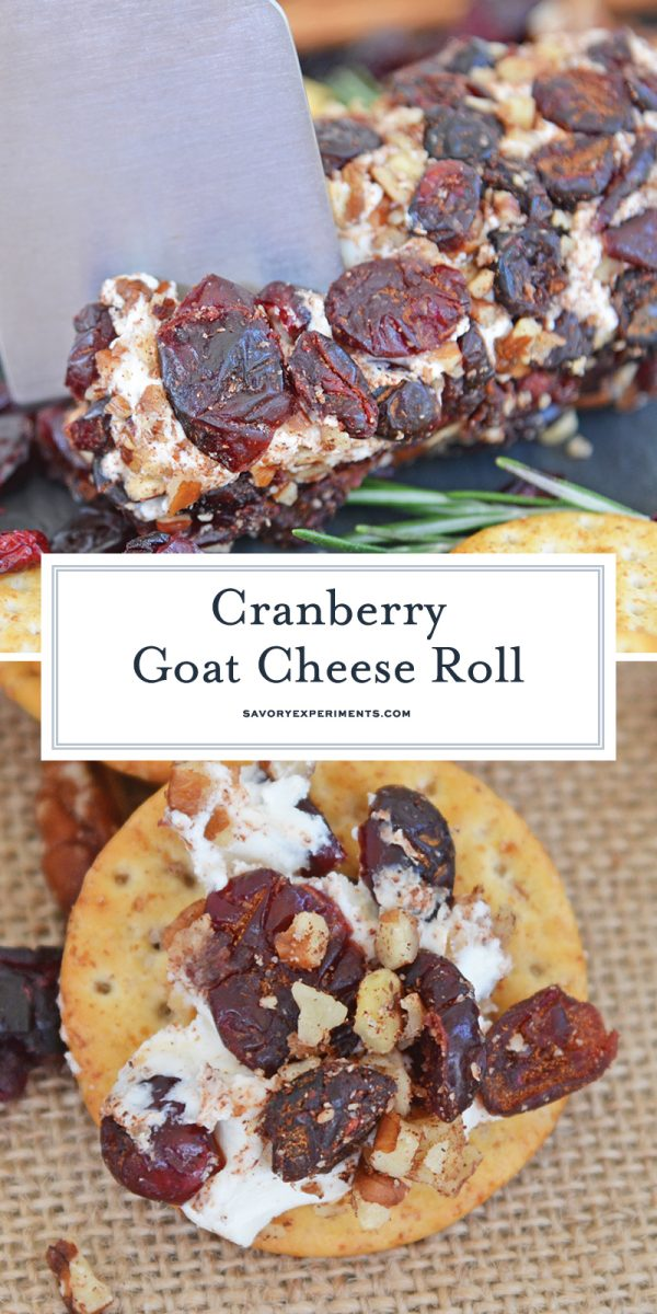 cranberry goat cheese roll for pinterest