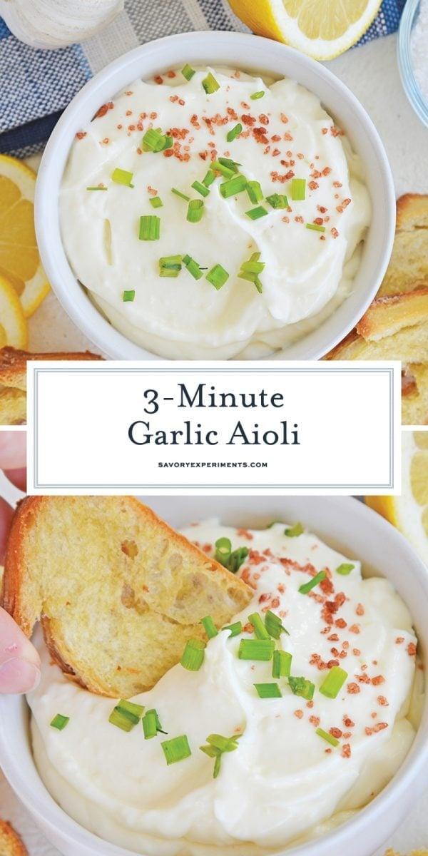 easy aioli recipe for pinterest