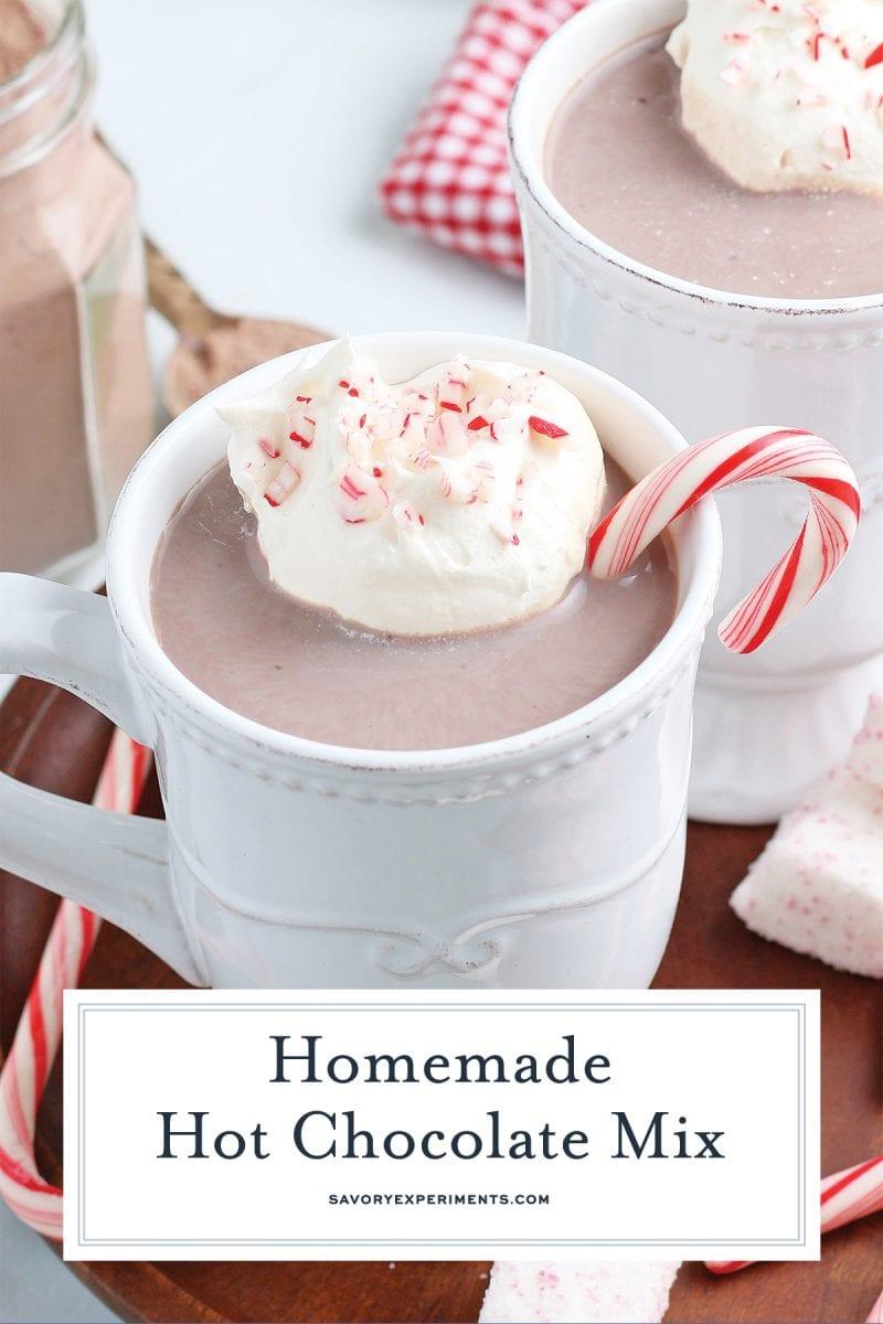 creamy homemade hot cocoa