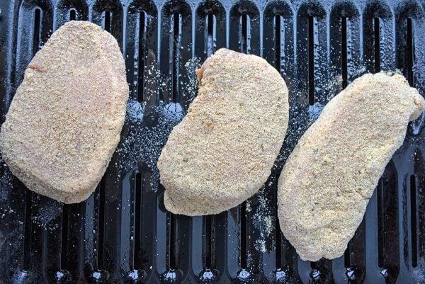 pork chops on broiler pan