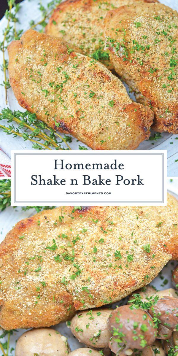 homemade shake and bake pork chops for pinterest