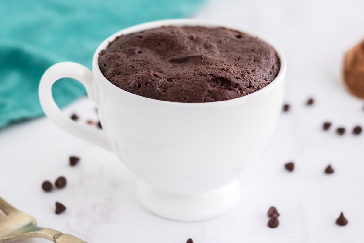 cooked mug brownie