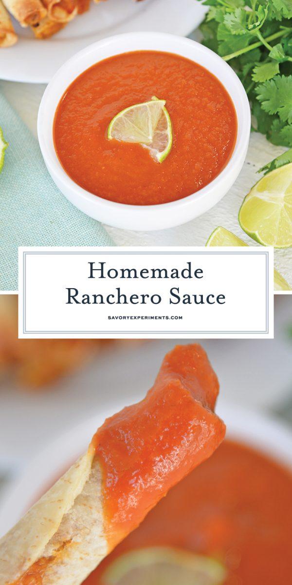 homemade ranchero sauce for pinterest