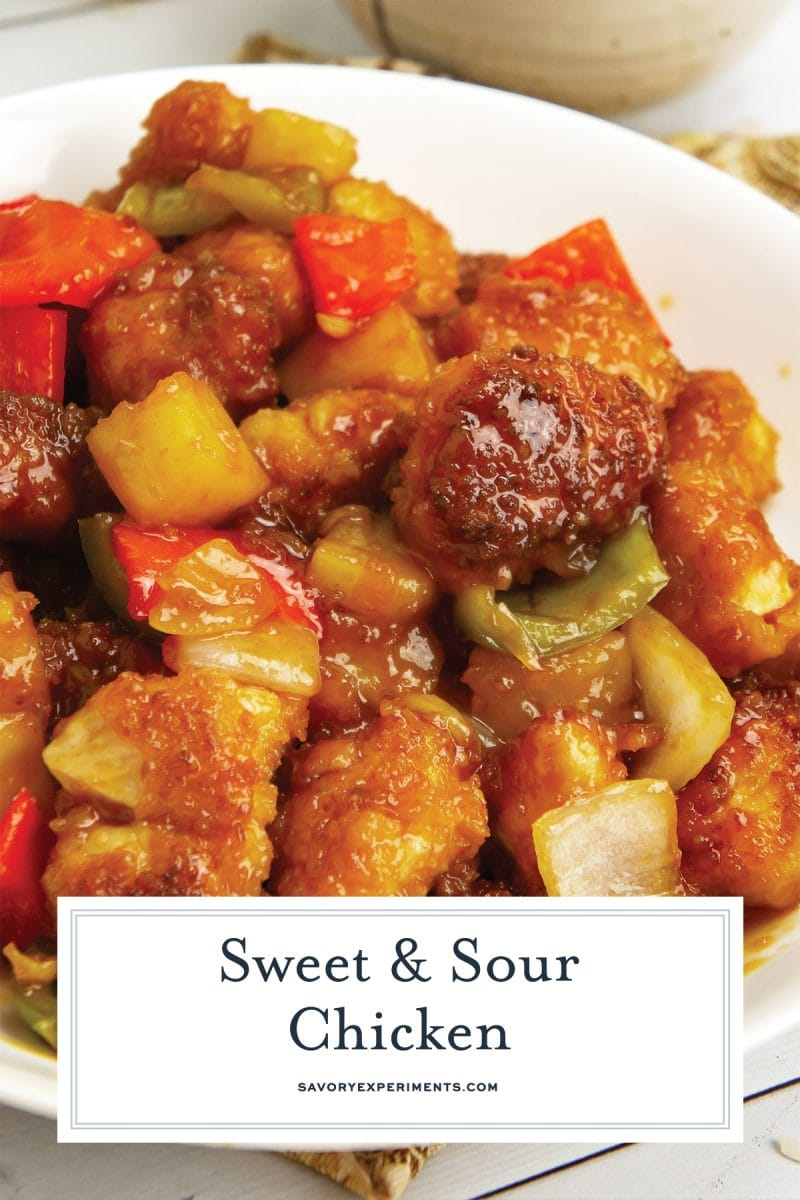 pin for sweet and sour chicken
