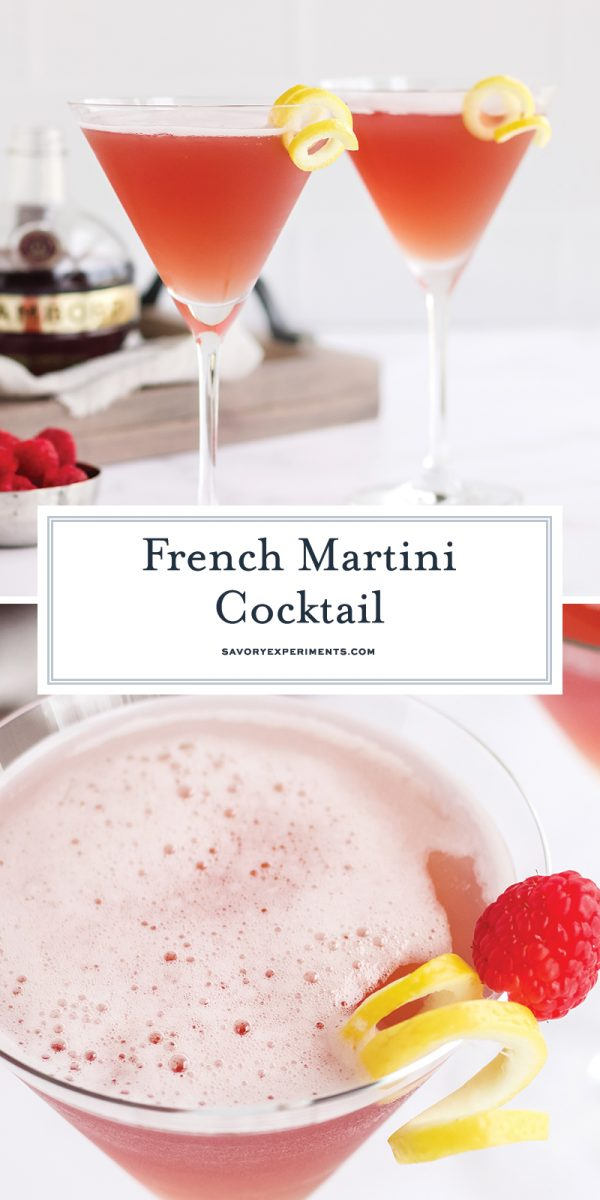 french martini cocktail for pinterest