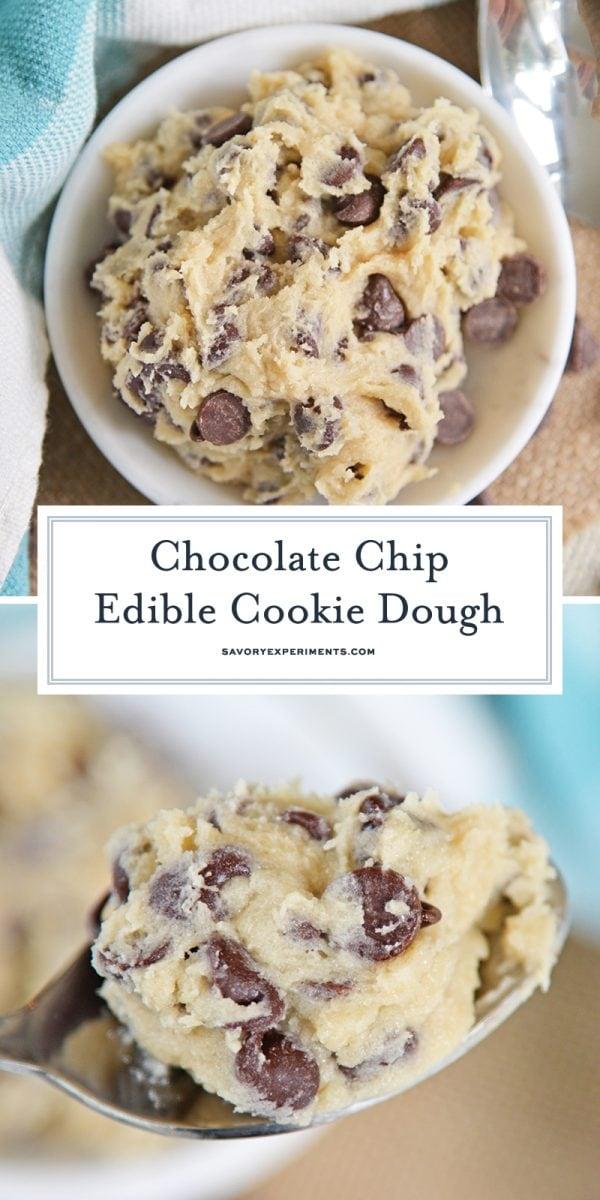 edible cookie dough for pinterest