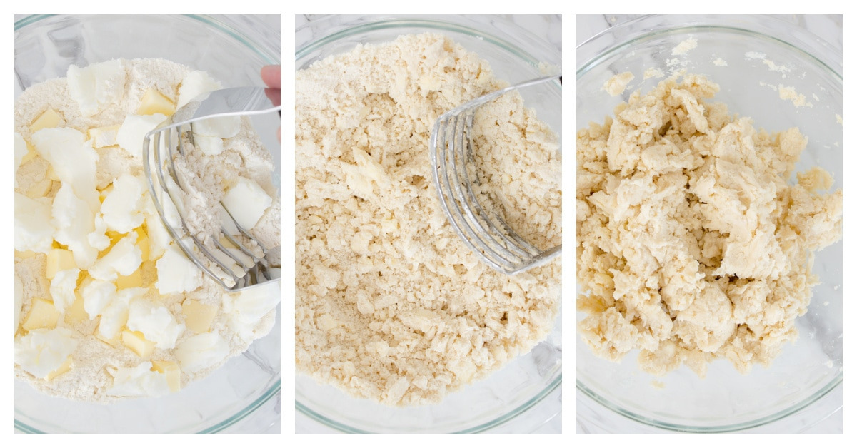 how to make pie crust process shots