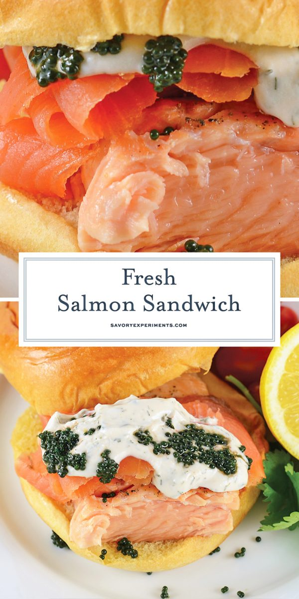 salmon sandwich recipe for pinterest
