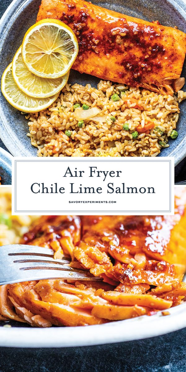 air fryer salmon for pinterest