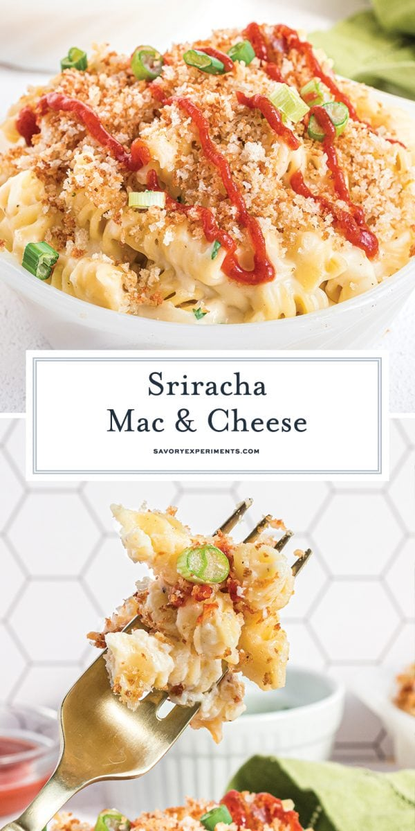 sriracha mac and cheese for pinterest