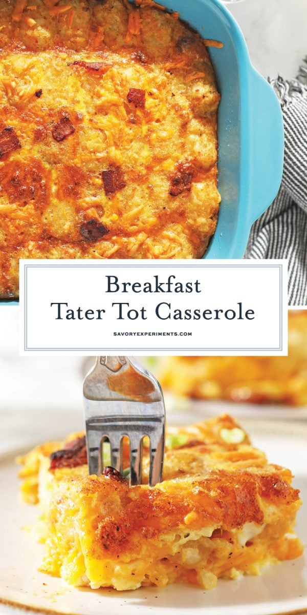 breakfast tater tot casserole for pinterest