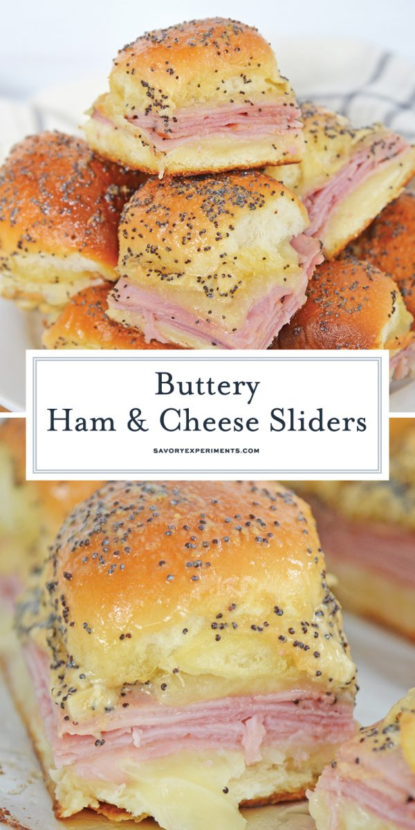 ham and cheese sliders for pinterest