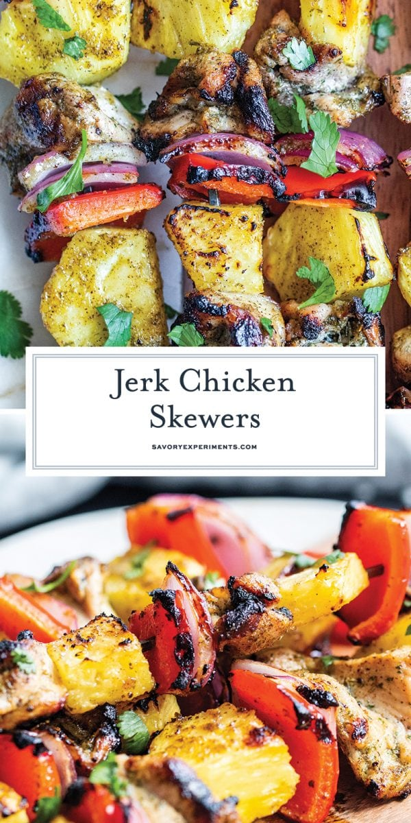jerk chicken skewers for pinterest