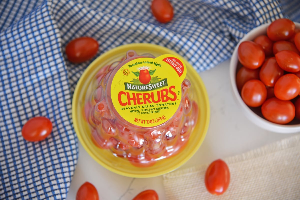 cherub tomato packaging