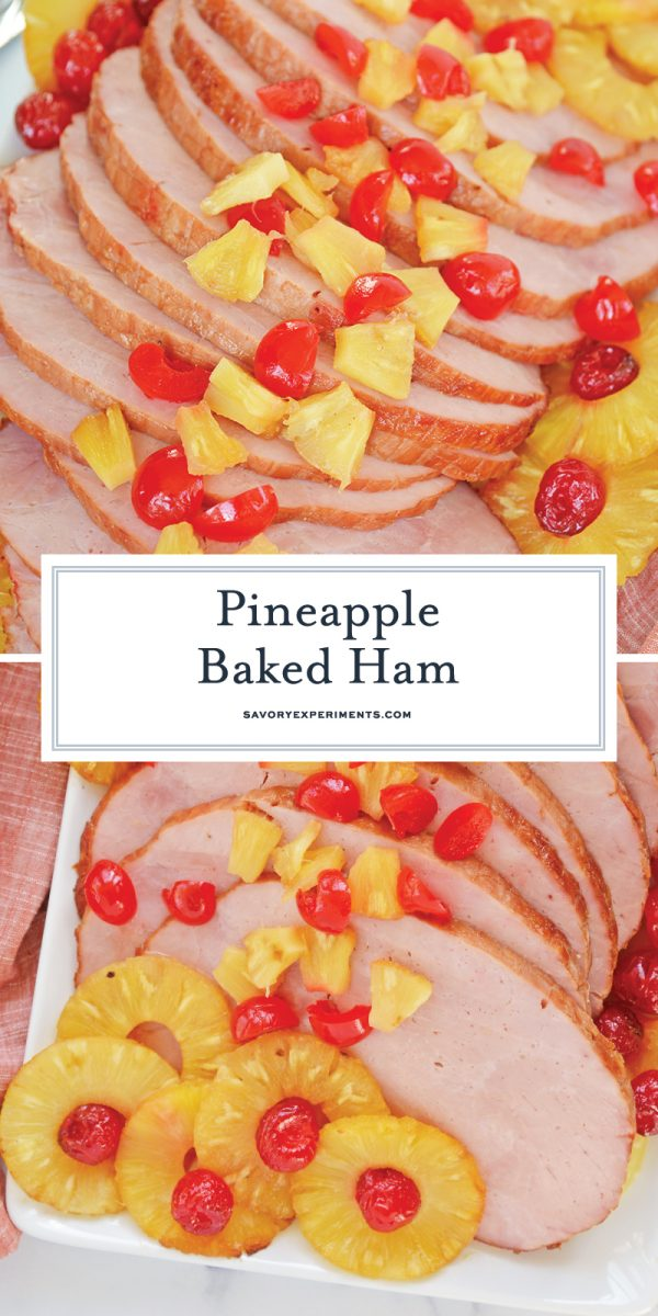brown sugar pineapple ham for pinterest
