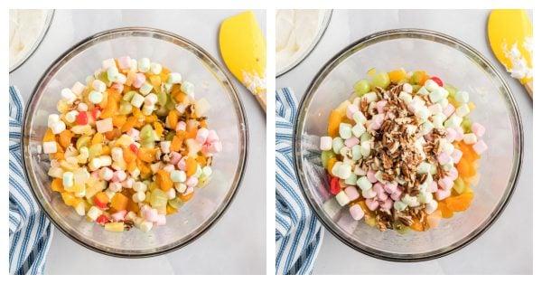 how to make creamy fruit salad