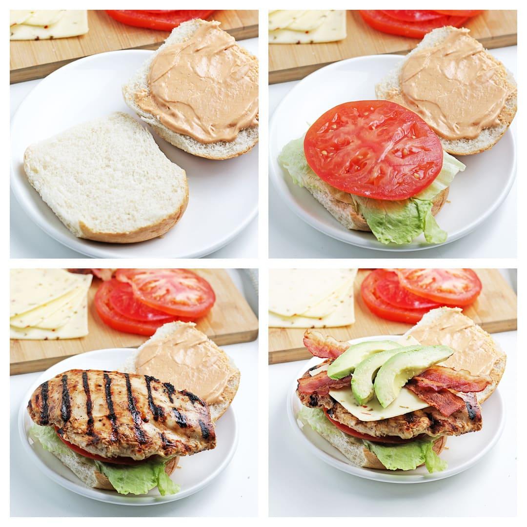 how to make a spicy chicken sandwich